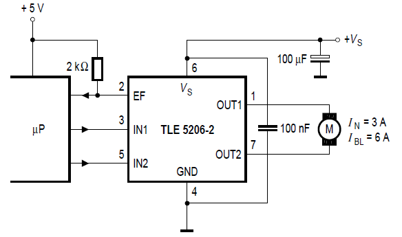 stepper motor control circuit