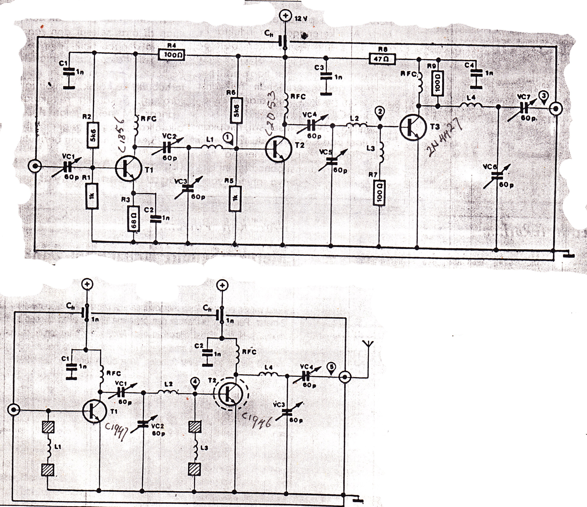 25w Fm Booster Transmitter Electronic Circuit Diagram And Layout Simple Alarm Using 12c509