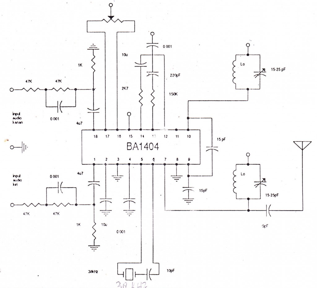 All About Most Simple Fm Transmitter Circuit Diagram Circuits 9v Gallery