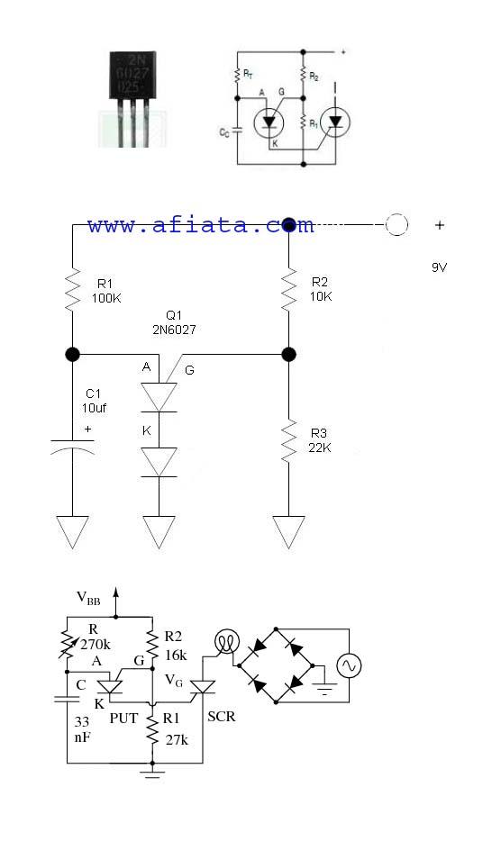 simple Timing circuit 2N6027