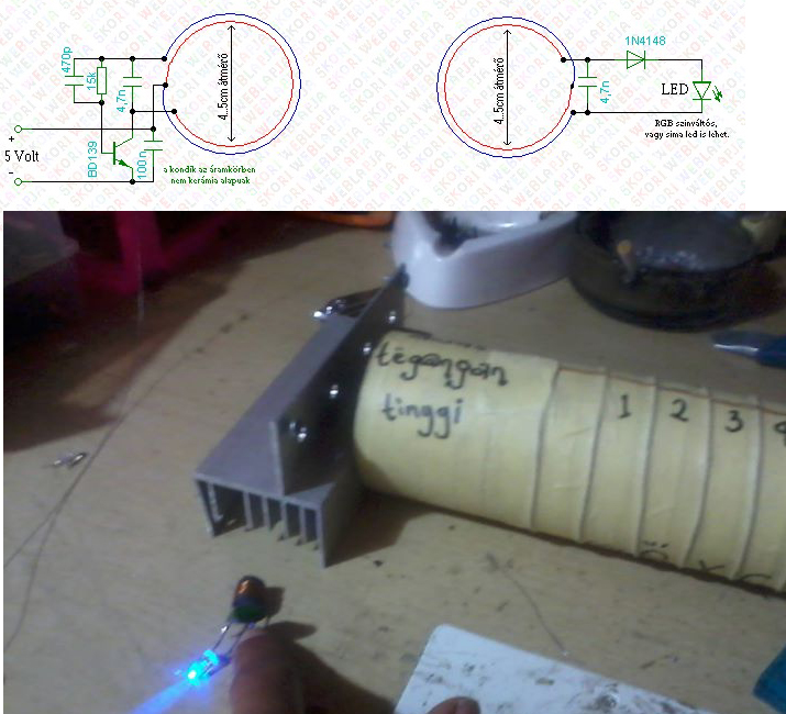 transfer electricity wirelessly schema