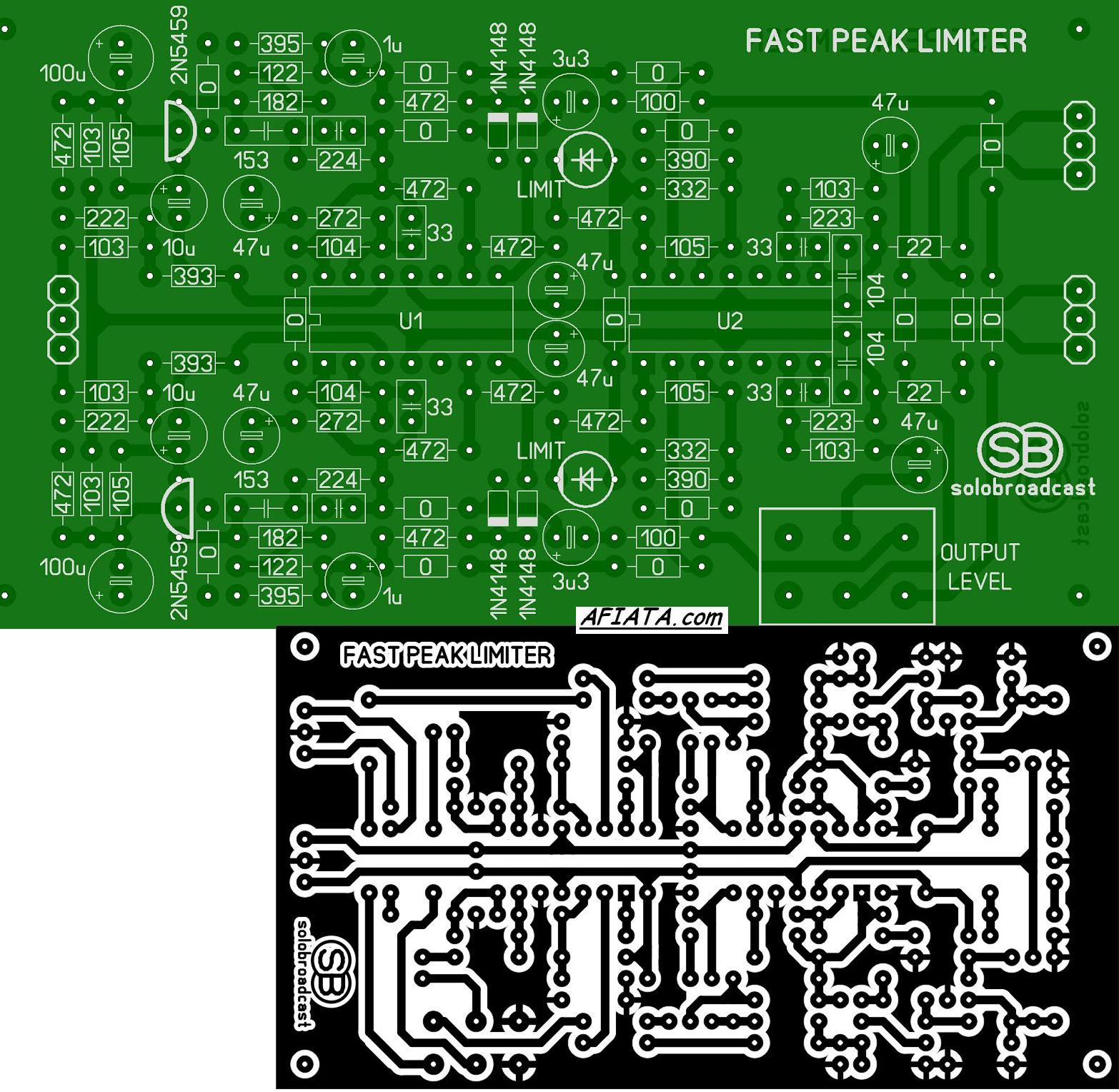 Audio Compressor Circuit Diagram