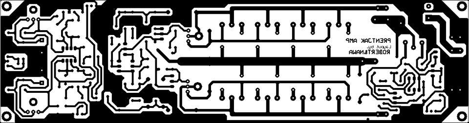 Audio amplifier circuit diagram using transistor 8