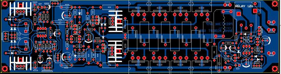Audio amplifier circuit diagram using transistor