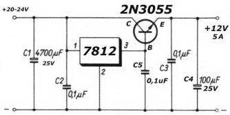 pre amp power supply design