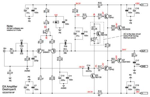 basic electronic circuit design diy electronic circuit 2sc5200 2sa1943 amplifier circuit diagram pcb pdf 2sc5200 power amp circuit diagram