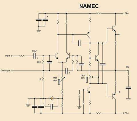 Namec Circuit Diagram