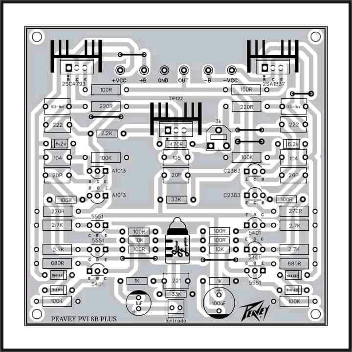 Audio Schematics Power Amplifier Peavey