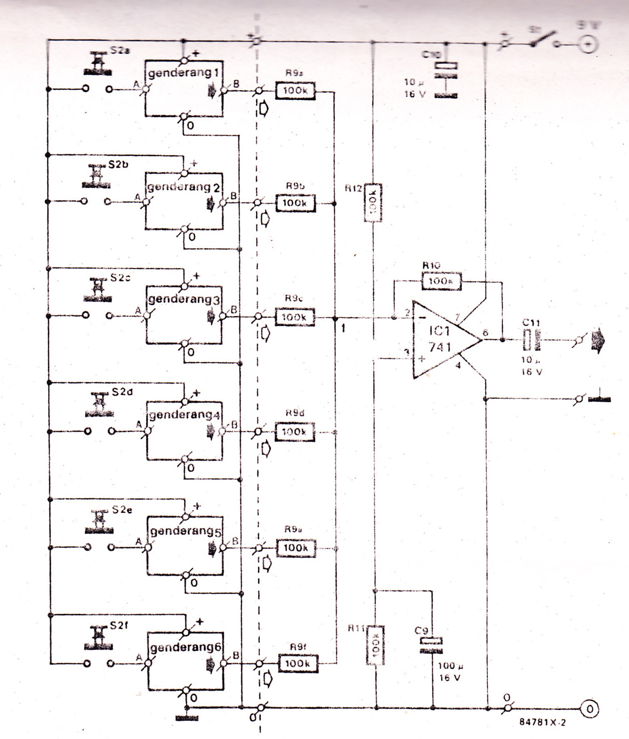 Radio Jammer Circuit Block And Schematic Diagrams Fm Electronic Drums Used 741 Diagram Signal Homemade