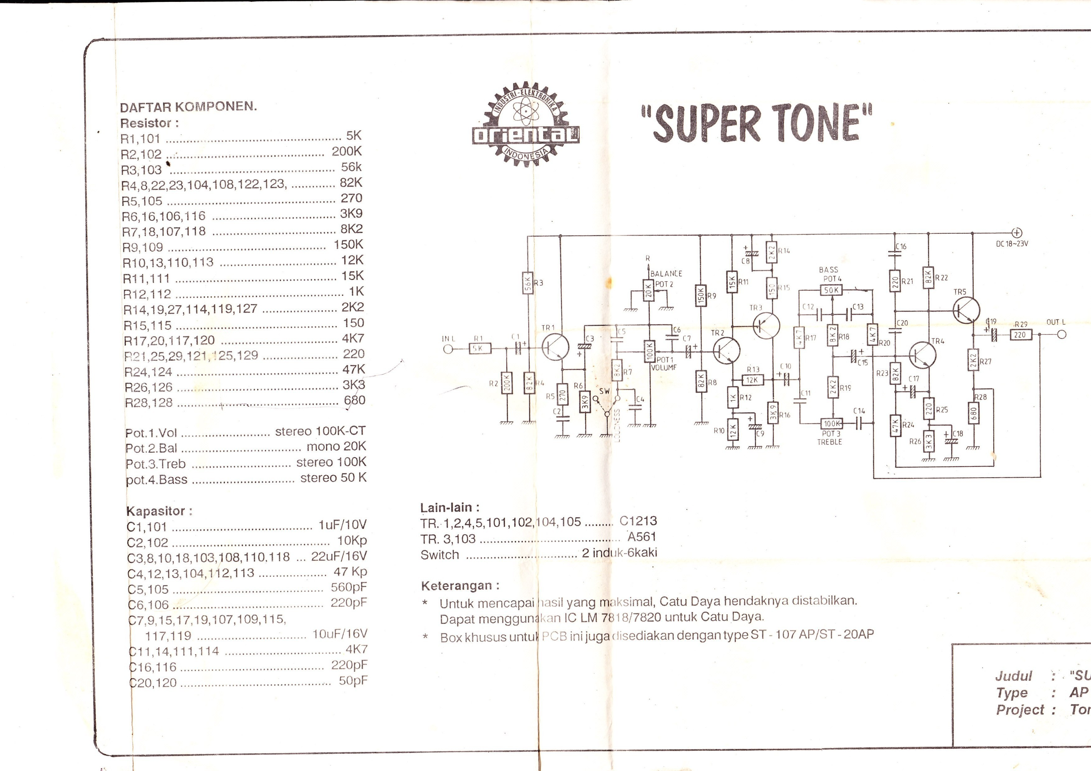 Nice Stereo Tone Control Circuit Diagram Images Lm1040 Design Electronic Project And Layout