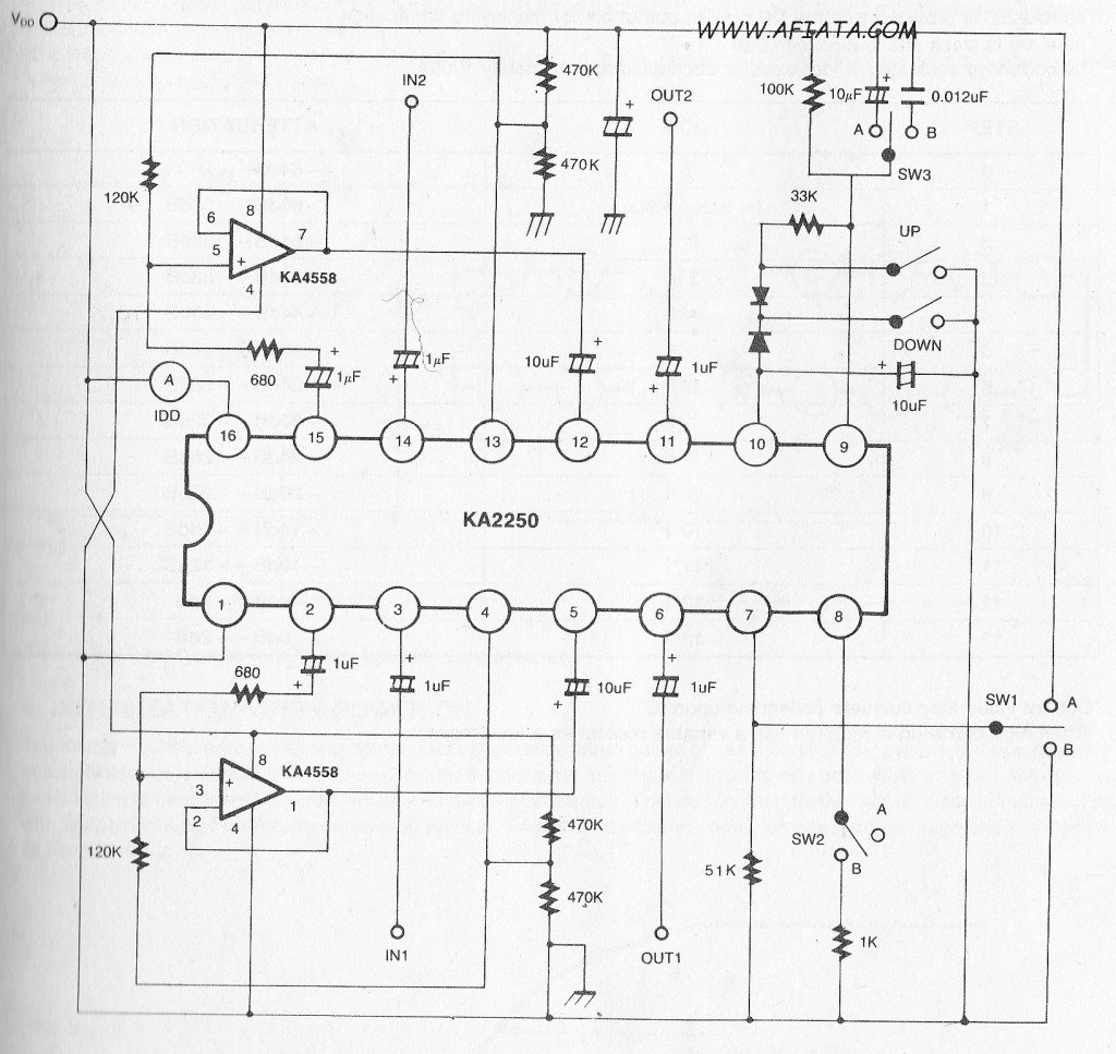 Electronic Volume Control Best 2018 The Ds1669 Is An Digital Rheostat Manufactured By Dallas Circuit Diagram And Layout